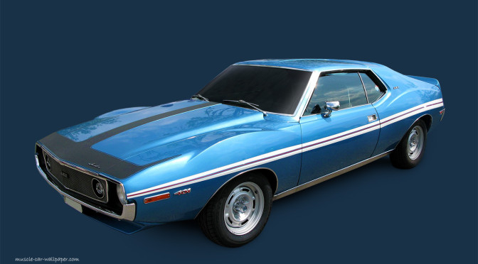 Javelin | AMC | un Muscle Car de ensueño