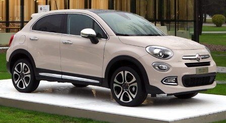 Fiat 500X equipa neumáticos Bridgestone