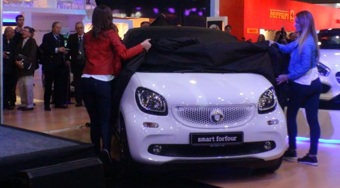 #smart presenta el nuevo #forfour en el #Salón de Buenos Aires