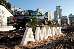 Amarok en La Rural www.pruebautos.com.ar