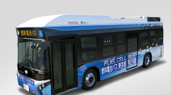 Toyota & Hino  prueban colectivos con cero emisión