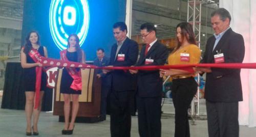 Kia inauguró la nueva planta en Nuevo León, México