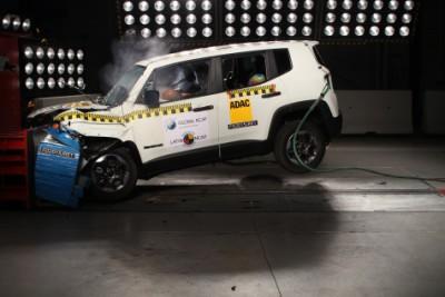 Latin NCAP – Jeep Renegade logra máxima calificación!!! + video