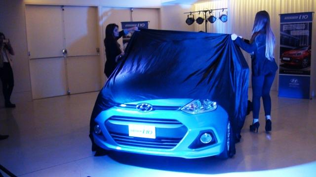 Hyundai presentó el Grand i10 en Argentina