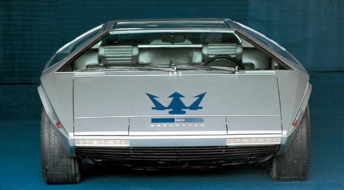 Subastarán el único Maserati Boomerang