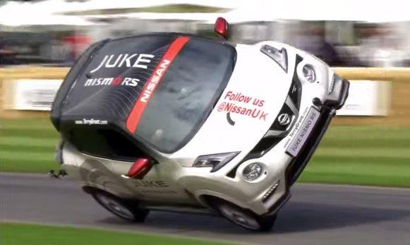 #Nissan #JUKE NISMO RS – nuevo récord en el Festival de la Velocidad de #Goodwood
