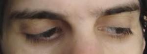 ojos mira para la izquierda