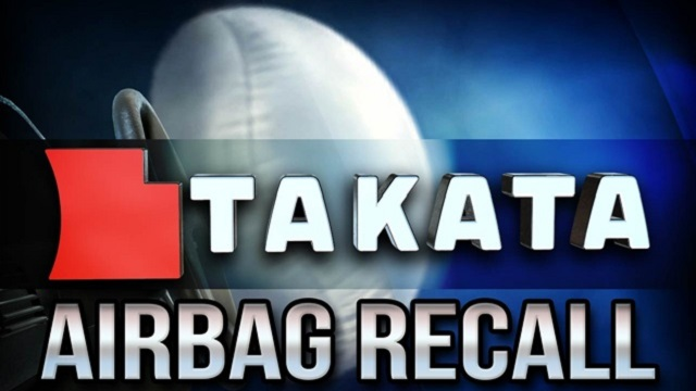Recall | los airbags defectuosos de Takata