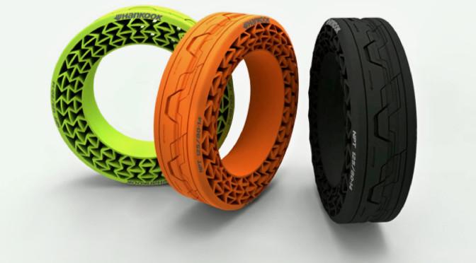 Hankook desarrolla neumáticos sin aire