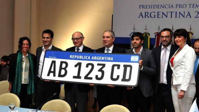 Conocé la nueva patente de vehículos para el Mercosur