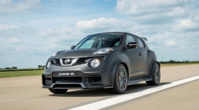 Nissan fabricará el Juke-R 2.0