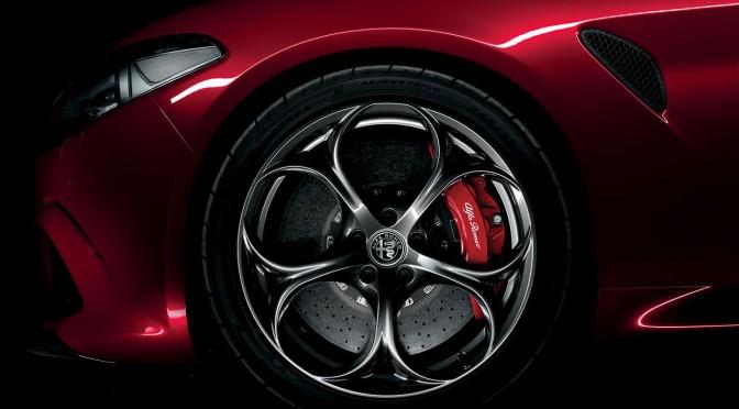 Alfa Romeo Giulia Quadrifoglio en Frankfurt 2015 + video