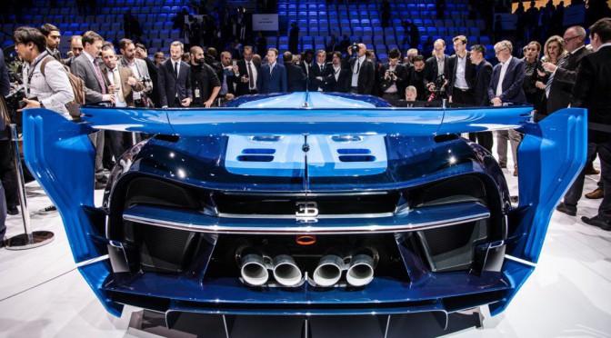 Bugatti Vision Gran Turismo en Frankfurt 2015