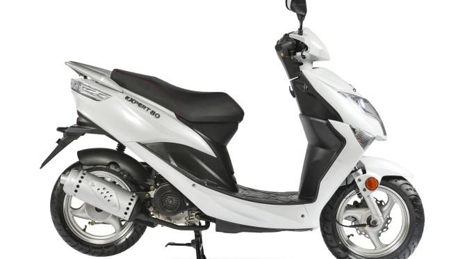 Corven presenta el scooter Expert 80 de nueva generación