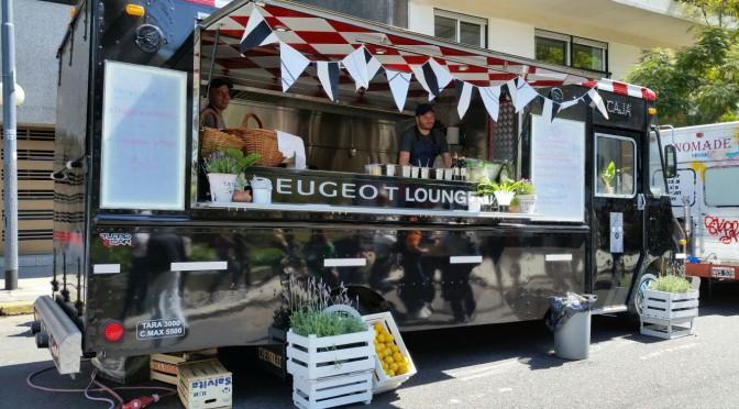 PEUGEOT FOODTRUCK, frente a la embajada francesa todos los sabores de su cocina