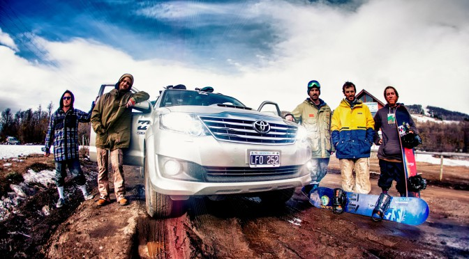 Toyota en el Billabong Rock The Snow