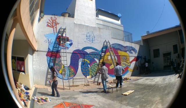 RSE de Toyota Argentina + Consecionario Federico – proyecto artístico PARed