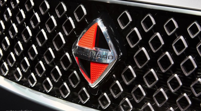 Otro Rombo – Borgward BX7 Concept en Frankfurt 2015