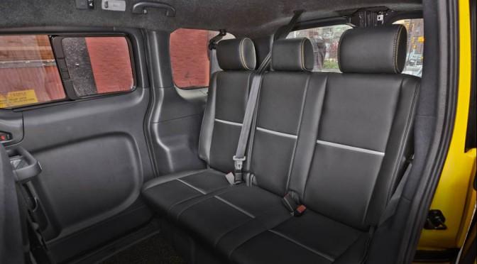 Nissan NV200 – nuevo modelo de taxi neoyorkino