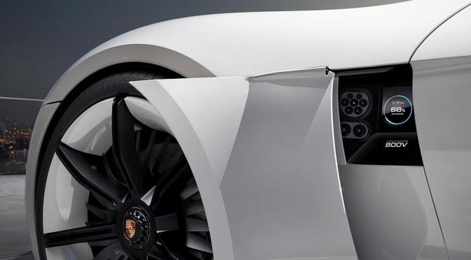 Concept Mission E by Porsche en Frankfurt 2015