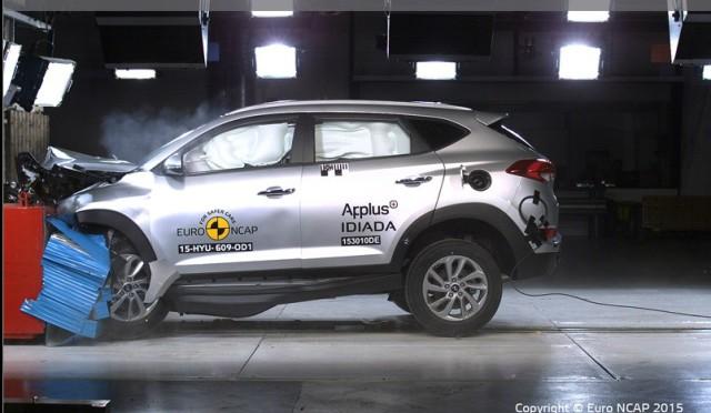 EuroNCAP | Hyundai Tucson es la mas segura = 5 estrellas