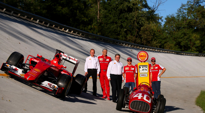 Shell renueva su alianza con Ferrari