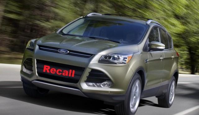 Recall Ford  esta vez un problema en los Kuga