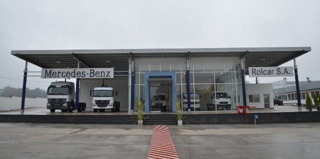 Mercedes-Benz – nuevo taller de Rolcar en Tucumán