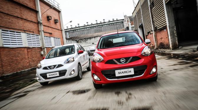 Nissan March estrena paquete de colores en el 8vo Game Show en Brasil