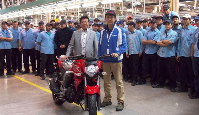 Yamaha | ya produjo 300.000 motos en Argentina