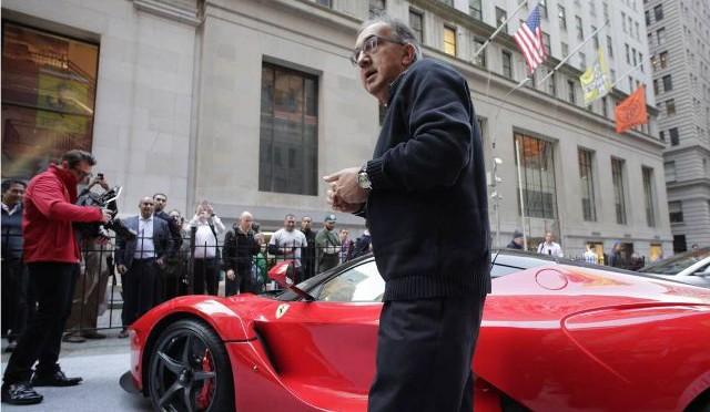 FCA | Ferrari lista para correr en Nueva York, pero en la Bolsa de Valores…