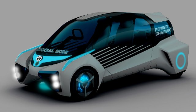 Toyota FCV Plus | concept car 2 en el Tokio Motor Show