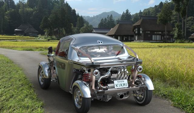 Toyota KIKAI | concept car 3 en el Tokio Motor Show