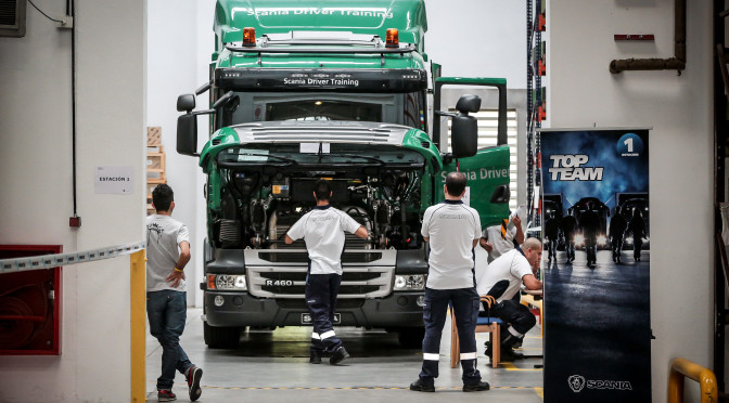 SCANIA | mecánicos argentinos participarán de la final mundial de TOP TEAM