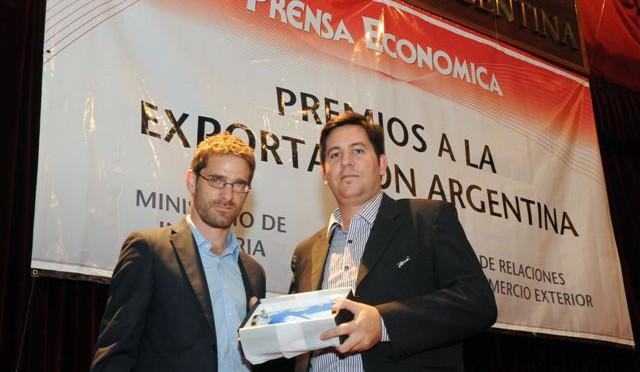 CORVEN AUTOPARTES | recibe premio a la exportación Argentina
