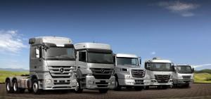 Linea de camiones Mercedes-Benz Euro 5. Foto 1