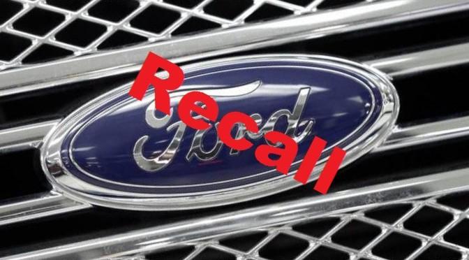 Ford | Recall para aproximadamente 452 mil Fusion y Milan