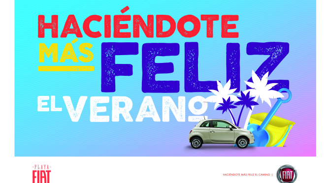 Fiat | presenta Playa Fiat 2016 – Haciéndote más felíz el verano
