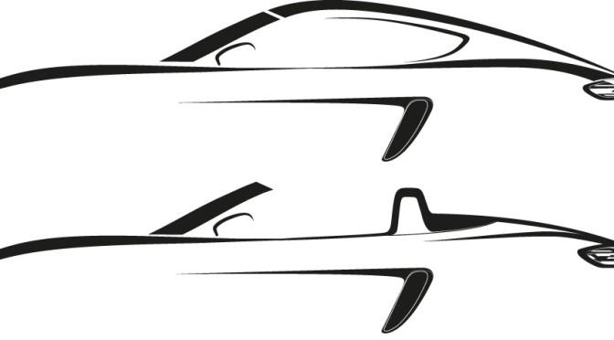 Porsche | los deportivos con motor central llevarán nombres retro