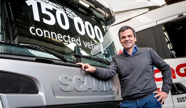 SCANIA | entregó el camión 150.000 equipado con SISTEMA de GESTIÓN de FLOTAS