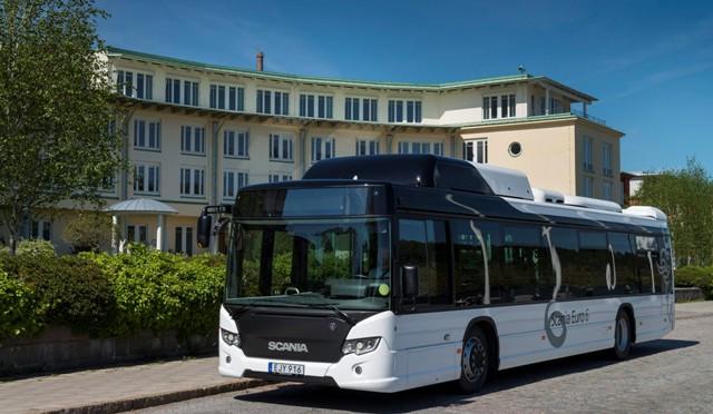Scania | entrega buses a gas en Cartagena