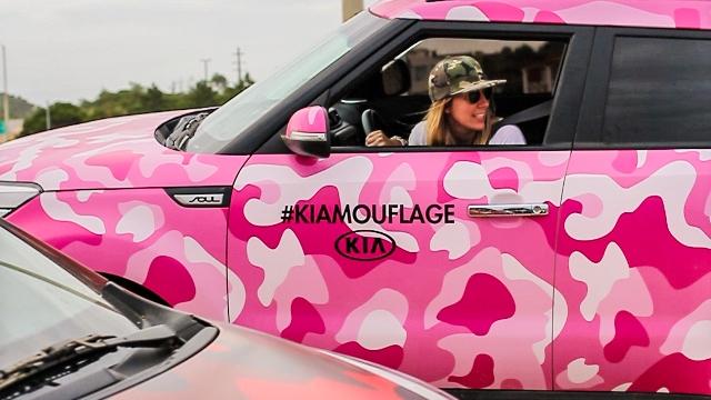 Kia | de veraneo con el #KIAMOUFLAGE