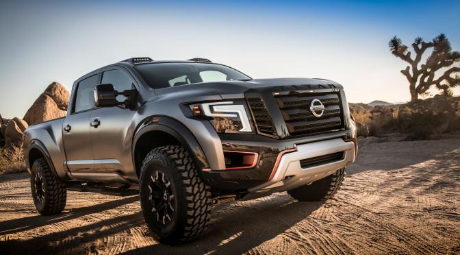 Nissan | presenta la TITAN Warrior Concept en Detroit 2016