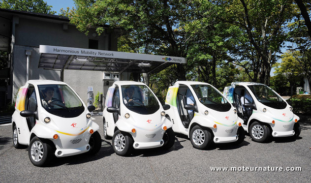 Toyota   lanza un nuevo proyecto  de vehículos eléctricos