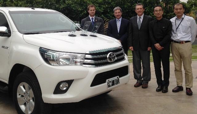 Toyota | le entregaron los premios de Latin NCAP