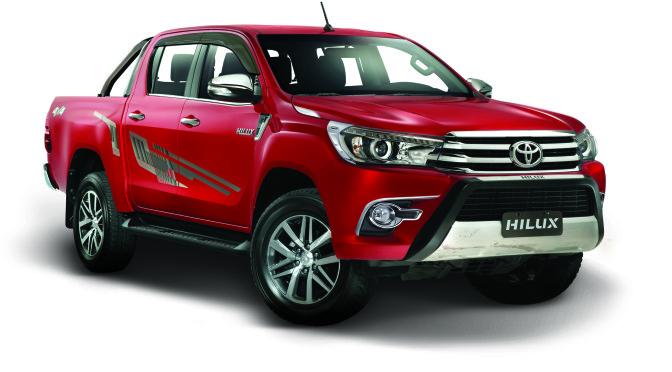 Toyota | presentó su línea de accesorios para la líder del mercado, la Nueva Hilux