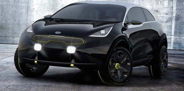 Kia | Niro Hybrid, el híbrido llegaría a Ginebra 2016