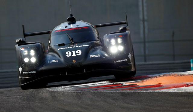 Porsche   2da sesión de pruebas del campeón Mundial de Resistencia