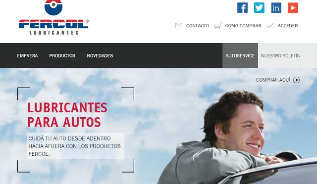 Fercol   presenta su nuevo sitio Web