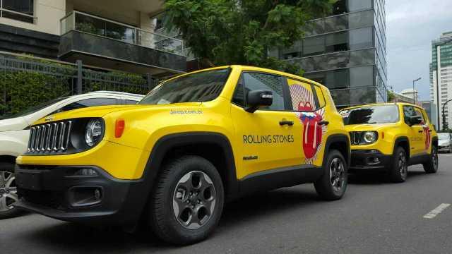 Jeep | Renegade apoyo logístico de The Rolling Stones